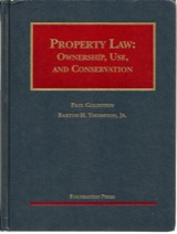 Property Law: Ownership, Use, and Conservation