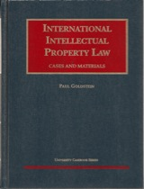 Cases and Materials on International Intellectual Property Law